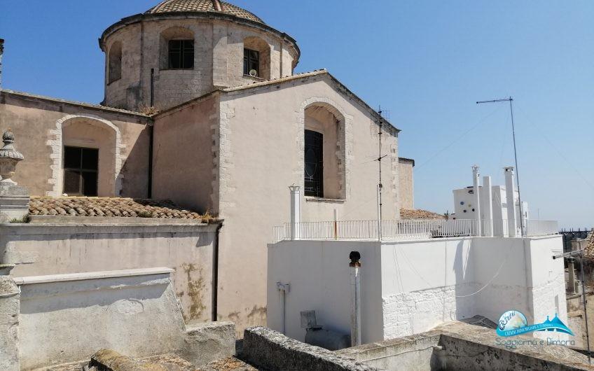 Antica casa in pietra con terrazzo vista Castello