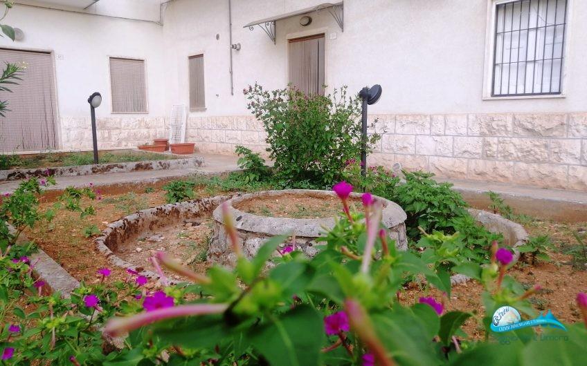 Abitazione al piano terra con giardino